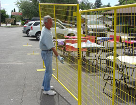Welded Wire Panel Fence Panels for Perimeter Patrol and Security Fencing